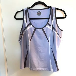 Bolle Athletic Tank sleeveless. Size L Blue.